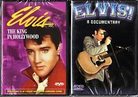 Elvis The King In Hollywood (DVD) & Elvis!  A Documentary (DVD)