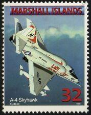 US Navy DOUGLAS A-4 SKYHAWK Ground Attack Jet Aircraft Airplane Mint Stamp