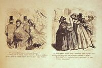 Album Comic 1862 All Days Gras 60 Wood Etched Cham Caricatures Napoleon III