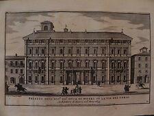 M Roma originale 1700 Specchi Palazzo Nevers Mancini Corso Banco di Sicilia