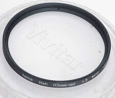 HAMA  72mm +3 Close-Up Lens Nah (XXII) + Case