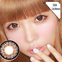Schokola Farbige Kontaktlinsen Color Contact Circle Lenses DIA14.8mm PmCh