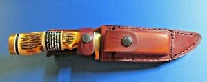 Schrade Uncle Henry fixed blade hunting knife 153UH T-62