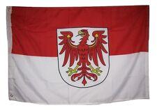 2x3 Brandenburg German Germany Rough Tex Knitted Flag 2'x3' Grommets