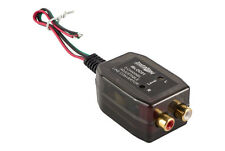 2 Channel HI LOW Speaker Line Level Converter For Factory Stereo To RCA Output