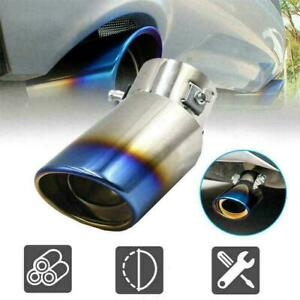 Car Auto Rear Exhaust Pipe Tips Tail Muffler Steel N7I NEW Accessories Car Z3E3