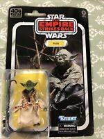 Star Wars The Empire Strikes Back - Yoda Toy Action Figure 40th Anniversary NEW!