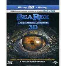 Blu Ray SEA REX - I DINOSAURI DEGLI ABISSI MARINI - (Blu-Ray 3D) (2012) ...NUOVO