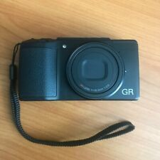 Ricoh GR II Digital Camera with 3-Inch LCD - Great Condition 2 Batteries & Case