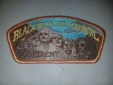 Boy Scout Black Hills Area Council Obedient FOS CSP/SAP