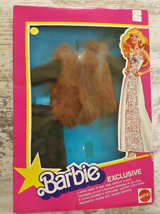 Vintage - 1979 Barbie Superstar Fashions Exclusive Real Leather & Fur
