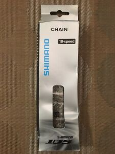 SHIMANO 105 CN-5701 10 Speed Chain with Chain Pin - Grey - NEW