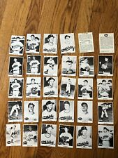 1976 Commemorative 1955 Rodeo Meat Baseball Kansas City A's Team Set