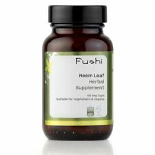 Fushi Wellbeing Organic Neem Leaf Capsules 500 mg 60 Veg Capsules