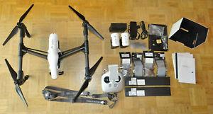 DJI Inspire 1 Pro V1.2 Drohne Quadrocopter 3 Akkus Original Koffer Fernsteue. *