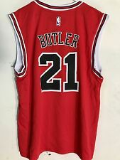 Adidas NBA Jersey Chicago Bulls Jimmy Butler Red Latin Nights sz M
