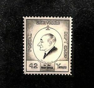 MS2001 N.E.Wallis Archive GPO Secretary 1950s Retirement Postcard *42 Years* NFS