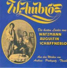 Wolfgang Ambros Die besten Lieder aus Watzmann Augustin Schaffnerlos  [CD]