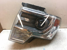 Ford F150 Chrome Xenon HID OEM Headlight 13 14 2013 2014 B98L31