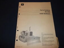 John Deere 6400 Bulldozer Parts Manual Book Catalog Pc-918