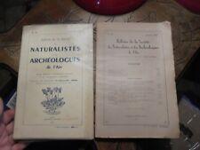 Bulletin de la Société des Naturalistes & Archéologues de l'Ain N°56 & 69