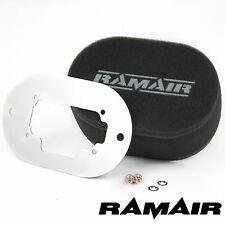 RAMAIR Carb Air Filter With Baseplate - Weber 32/36 DGAV 65mm Internal Height