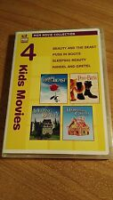 Beauty and the Beast/ Puss in Boots/ Sleeping Beauty/ Hansel and Gretel Dvd 2010