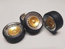 SD Felgen 16 Zoll Ronal Turbo F10 gold-chrom 32mm 1:18