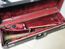 Vintage Trombone Olds Ambassador Brass W/ Case