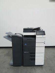 Konica Minolta Bizhub C454e color copier printer scanner Only 102K copies 45 ppm