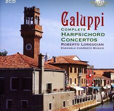 Ensemble ConSerto Mu - Galuppi: Complete Harpsichord Concertos [New CD] Holla