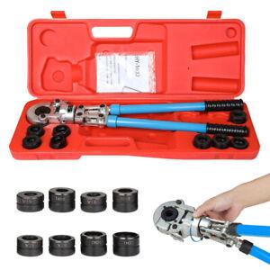 Presszange 15-28mm V-Kontur & 16-32mm TH-Kontur Rohrpresszange Pressbacken 360°