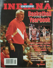 Inside Indiana Basketball Yearbook 1996-97 Bobby Knight Coach Cover No Label VG