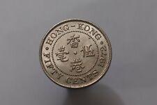 HONG KONG 50 CENTS 1972 HIGH GRADE B32 #K3635