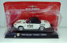VOITURE EN METAL -1600 SPIDER DUETTO 1966 ALPHA ROMEO (9x3,5cm)