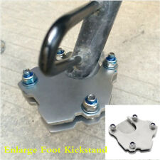 Universal Enlarge Stainless Steel Side Kickstand Stand Extension Plate Motor