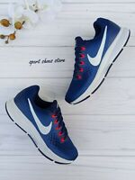 6.5 WOMEN'S NIKE AIR ZOOM PEGASUS 34 880560-410 BLUE WHITE RUNNING CASUAL