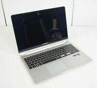 Samsung NP740U5M Notebook 7 Spin Intel i7-7500U 2.70GHz Parts Repair No RAM HDD