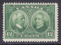 Canada 147 MNH 1927 12c Green Laurier and Macdonald Issue VF