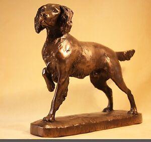 Springer Spaniel - Bronze -  David Geenty - Superb Boxed Gift