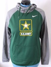 Nike Therma-Fit US Army All Time Green Cowl Neck Hoodie Jacket Women's M