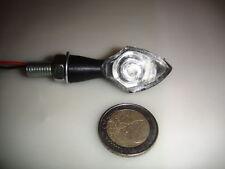 ►2X LED MINIBLINKER NANO CHROM SCHWARZ BUELL Firebolt XB9R,M2 Cyclone,1125CR