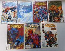 Baker's Dozen Spider-Girl Comic Lot, 13 Different, Average 8.0/VF (2007-2009)
