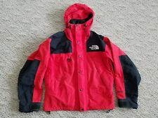 Vintage The North Face GORETEX Men's Jacket 90's Big Logo Red Black Size Small S