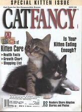 Cat Fancy Magazine March 1996 Special Kitten Issue