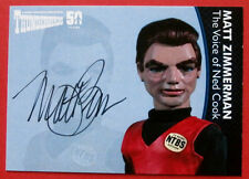 THUNDERBIRDS 50 YEARS - Matt Zimmerman (Ned Cook) Autograph Card - MZ2