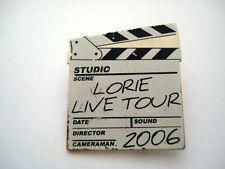 BADGE LORIE LIVE TOUR 2006 MUSIQUE