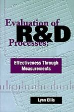 Evaluation of R&D Processes: Effectiveness Through Measurements-ExLibrary