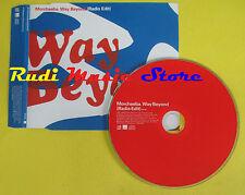 CD Singolo MORCHEEBA Way beyond 2002 germany WARNER PROMO no lp mc dvd  (S13)