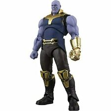 S.H.Figuarts Marvel Avengers Infinity War Thanos Action Figure w/ Tracking NEW